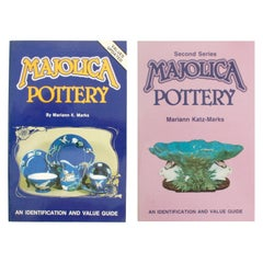 Two Books on Majolica Pottery by Mariann K. Marks