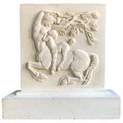 """Two Centaurs,"" Highly Important Original Maquette for Palais de Tokyo, 1937"