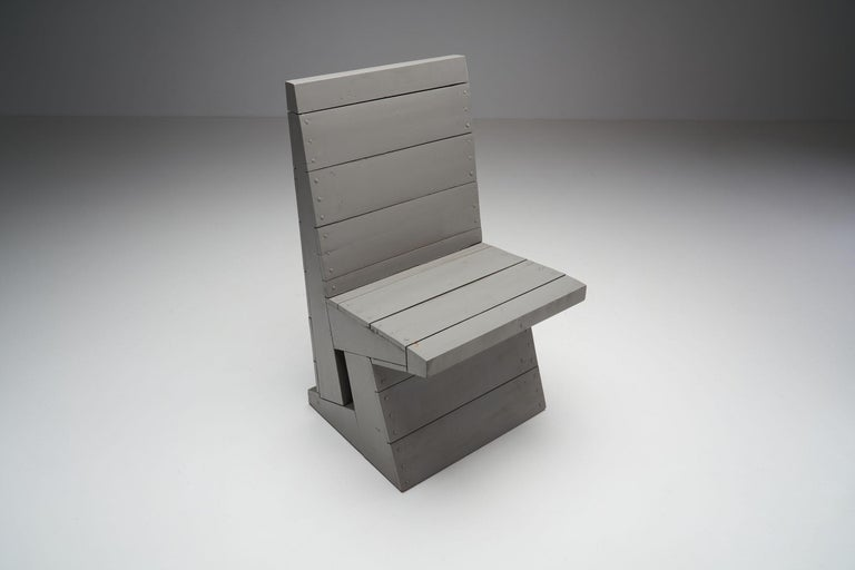 Pine Two Chairs and Stool by Dom Hans van der Laan, Netherlands, 1960s For Sale