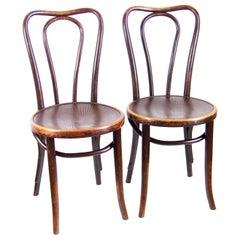 Two Chairs J&J Kohn Nr.48
