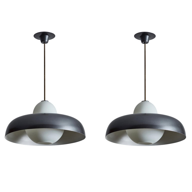 Two Chandeliers by Ignazio Gardella for Azucena For Sale