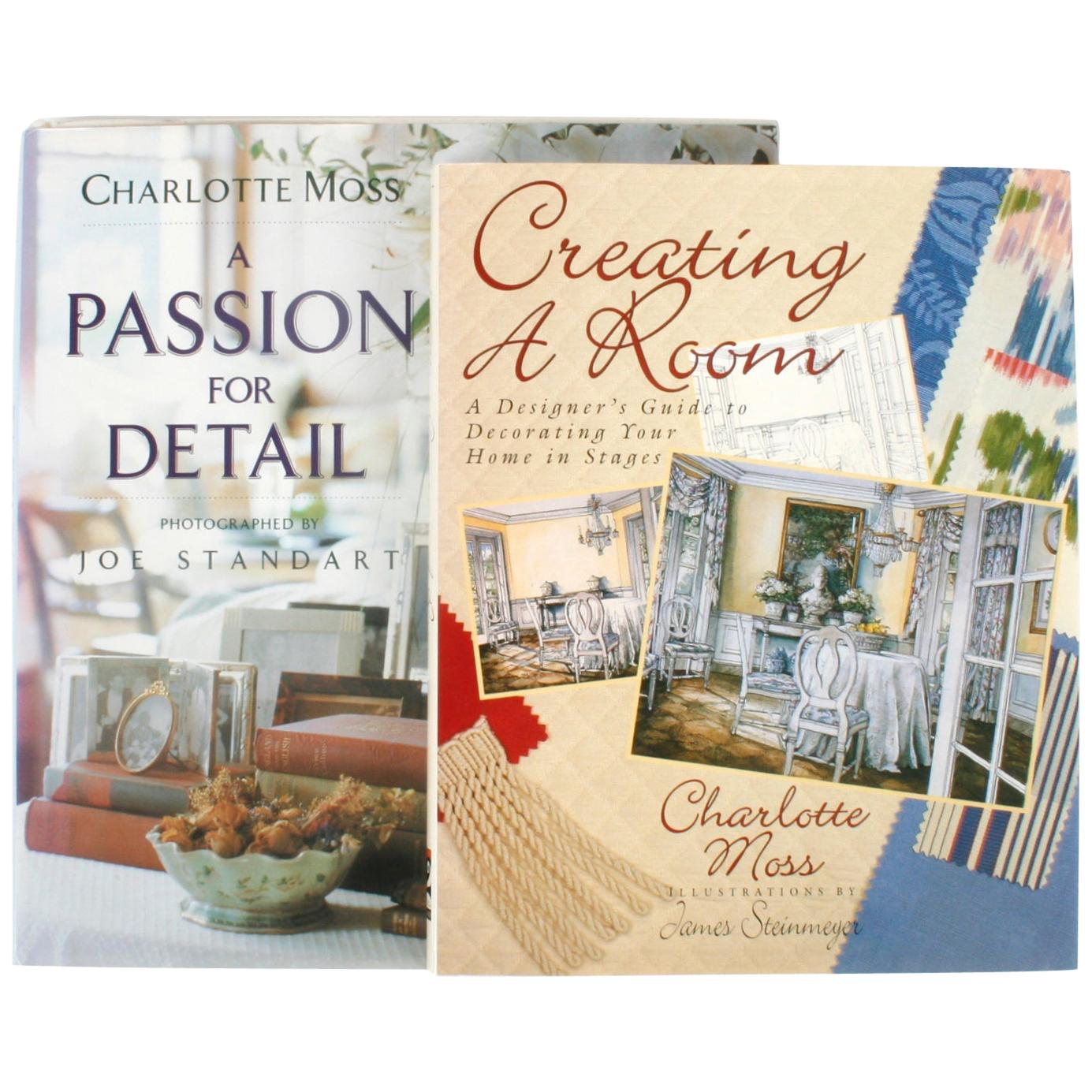 Two Charlotte Moss Books, a Passion for Detail and Creating a Room