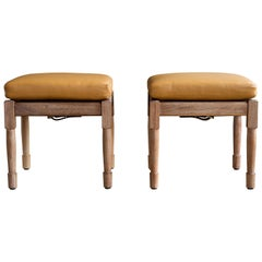 Two Chatwin Dining Stools - handcrafted by Richard Wrightman Design