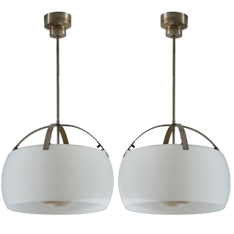 "Two ""Clinio"" Pendants by Vico Magistretti for Artemide For Sale"