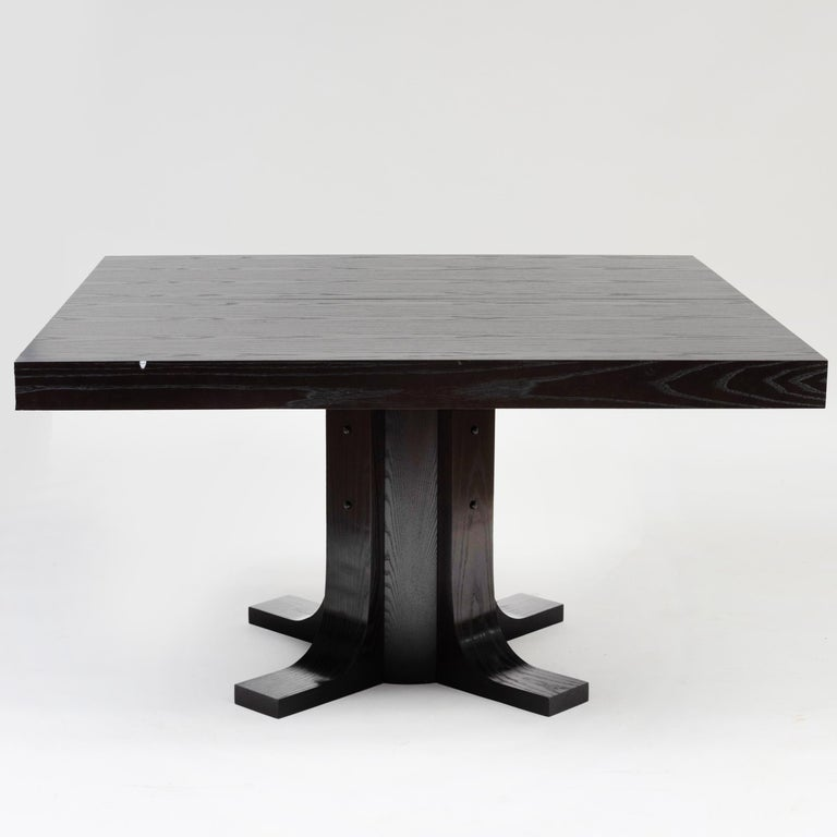 Modern Two Contemporary Ebonized Ash Dining Tables For Sale