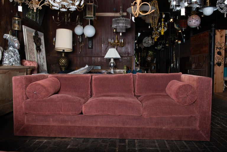 Two Custom Made John Saladino Sofas For Sale 6