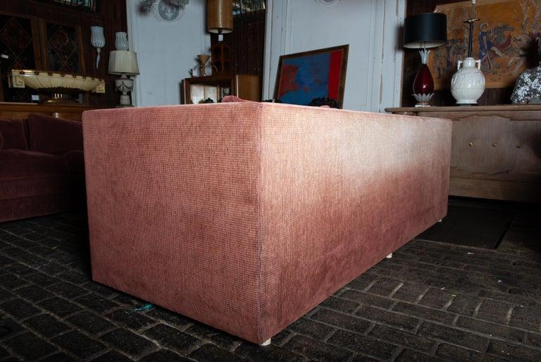 Two Custom Made John Saladino Sofas For Sale 7