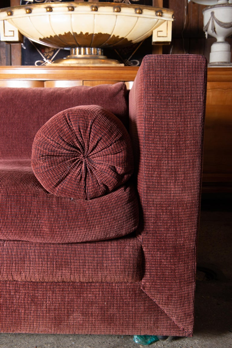 Two Custom Made John Saladino Sofas In Good Condition For Sale In Stamford, CT