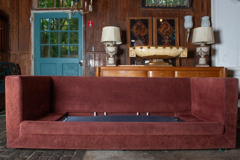 Two Custom Made John Saladino Sofas For Sale 2