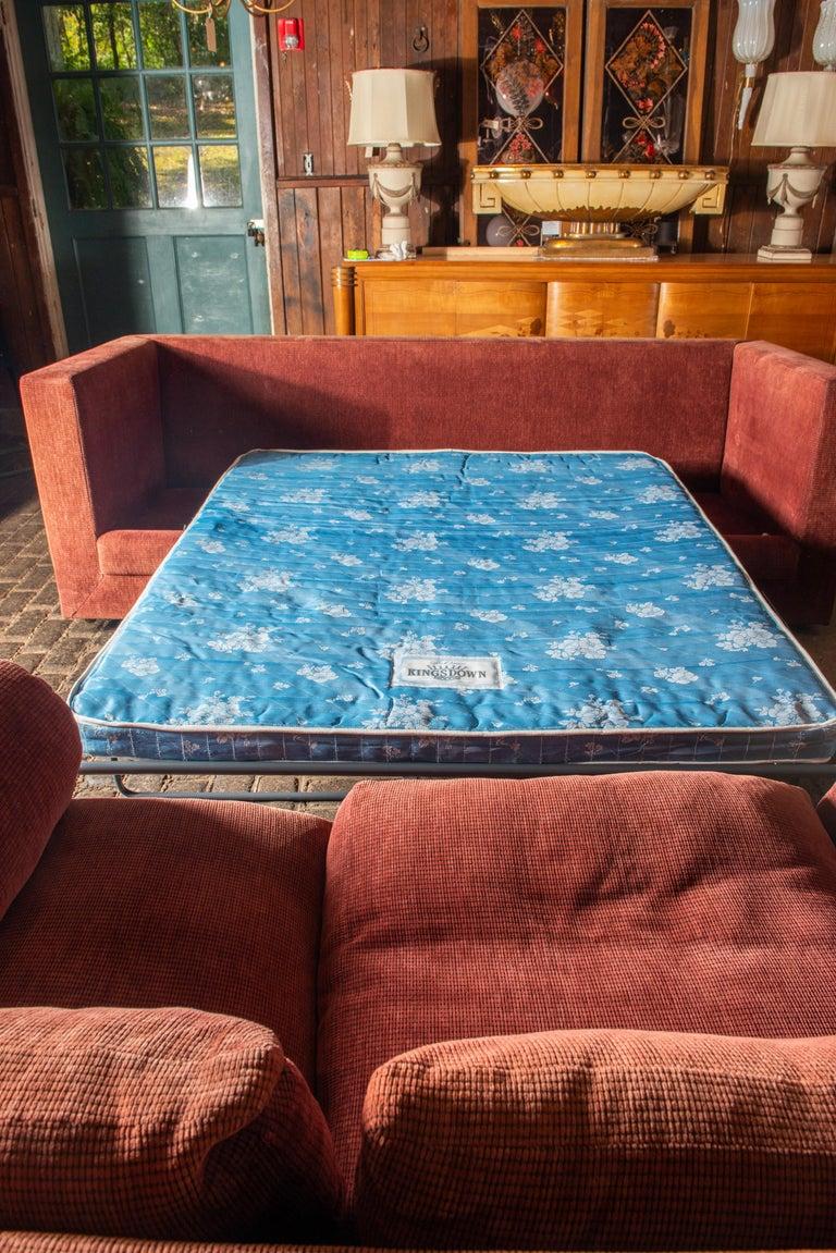 Two Custom Made John Saladino Sofas For Sale 5