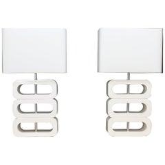 Two Design Table Lights Jan des Bouvrie
