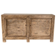 Two-Door Elm Bleached Server