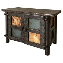 Jim Rose Legacy Collection - Two-Door Quilt Cabinet Maquette, Steel Miniature