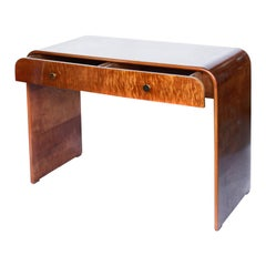 Art Deco Two-Drawer Desk