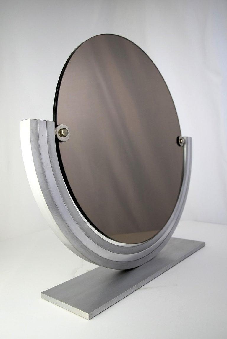 Two Elegant Italian Hollywood Regency Vanity Mirrors For Sale 7