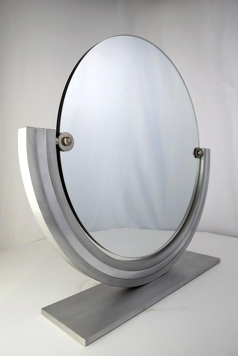 Two Elegant Italian Hollywood Regency Vanity Mirrors For Sale 2