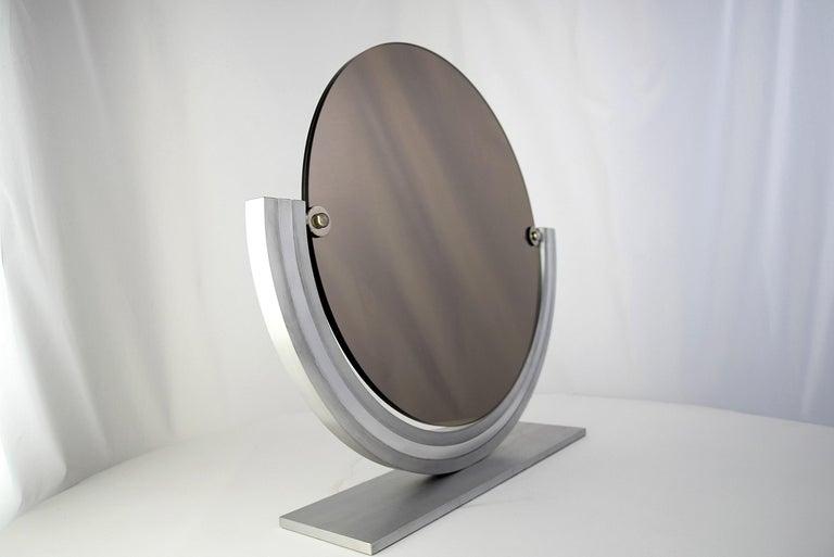 Two Elegant Italian Hollywood Regency Vanity Mirrors For Sale 4