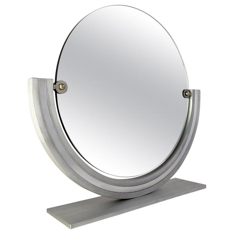 Two Elegant Italian Hollywood Regency Vanity Mirrors For Sale