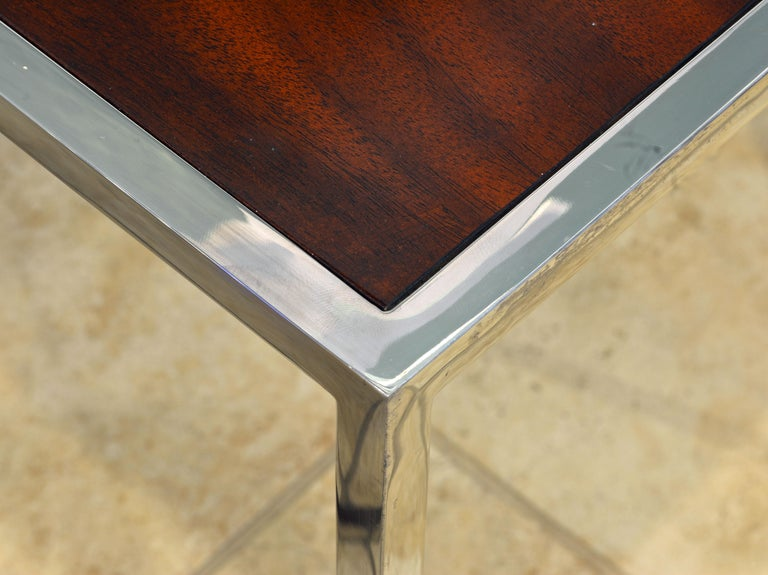 Two Elegant Nesting Tables by Michael Kirkpatrick for Decca Bolier Collection For Sale 3