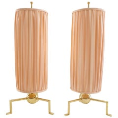 Two Exclusive and Rare Art Deco Table Lamp, Vienna, 1920s