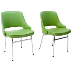 Two FM32  chairs Cees Braakman Pastoe