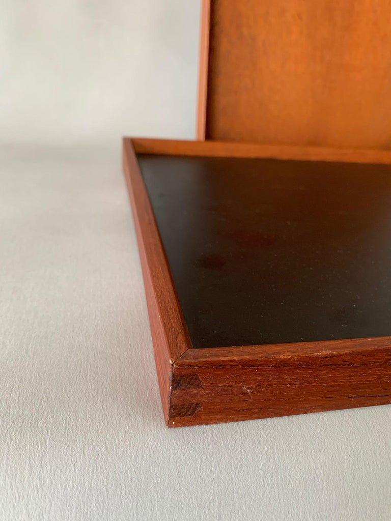 Mid-20th Century Two Finn Juhl Teak Trays for Torben Orskov For Sale