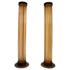 Two Floor Lamps by Fa. Preciosa in Kamenicky Senov, Czechoslovakia in the 1970s