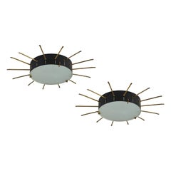 Single Flush Mount Ceiling Lights by G.C.M.E.