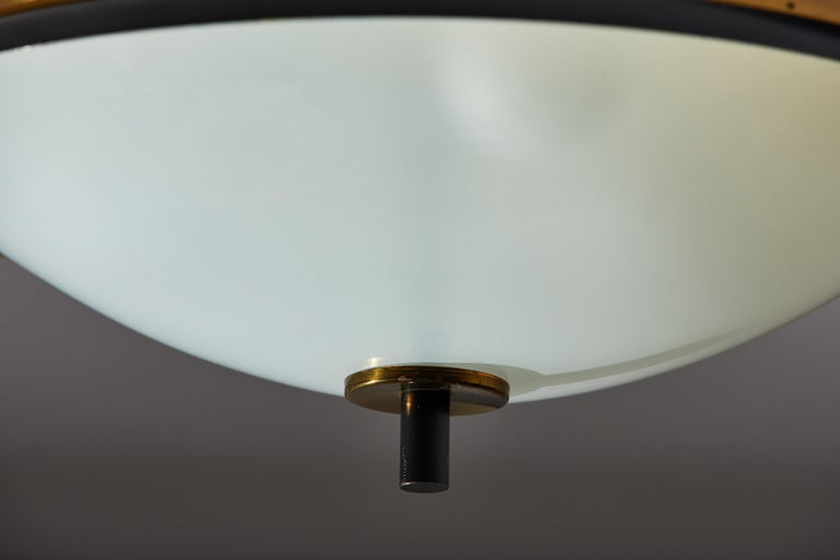 Two Flush Mount Ceiling Lights by Oscar Torlasco for Lumi For Sale 2