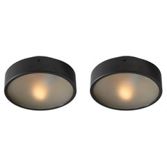 Two Flush Mount Ceiling Lights by Stilnovo