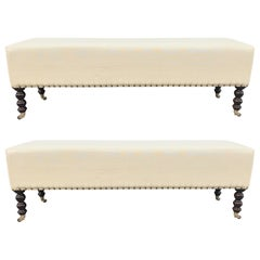 Two George Smith Benches