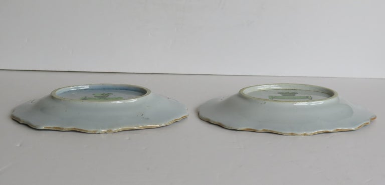 Two Georgian Mason's Ironstone Oval Dishes Table & Flower Pot Pattern, Ca 1818 For Sale 8