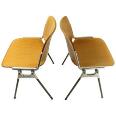 Two Giancarlo Piretti DSC Axis 106 Chairs for Castelli