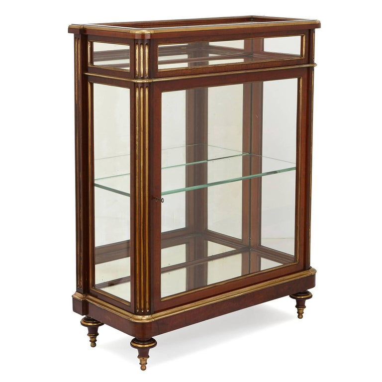 These Refined Display Cabinets Or Vitrines Are Perfect For Elegantly Complimenting The Of