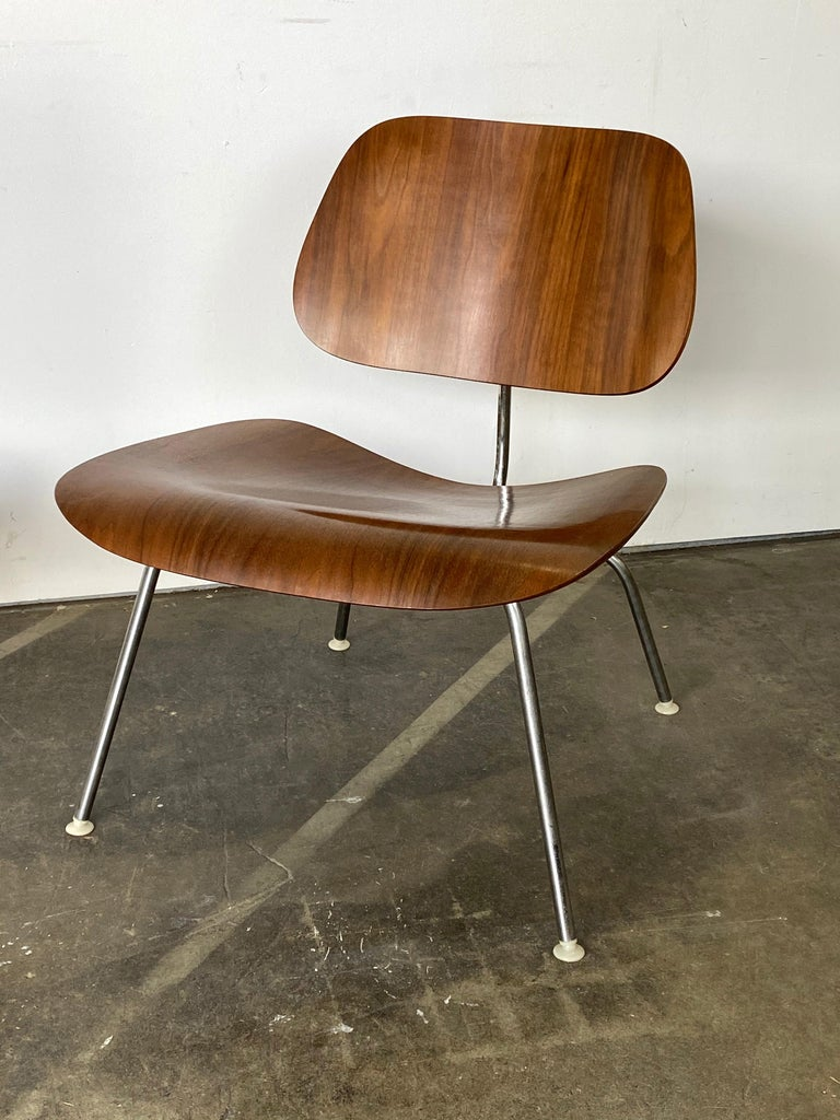 American Two Herman Miller Eames LCM Chairs in Walnut