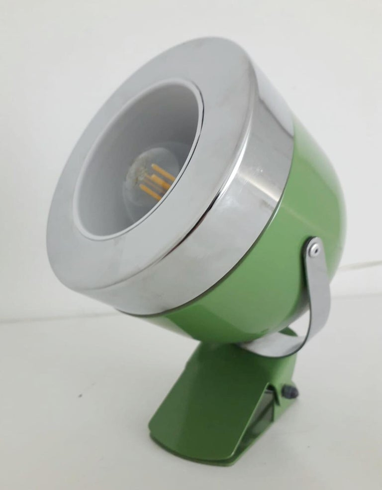 Two Italian Spotlights In Good Condition For Sale In Palm Springs, CA