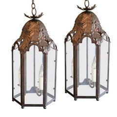 Two Italian Style Lanterns