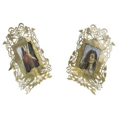 Two Jugendstil Picture Frames, Vienna, circa 1908