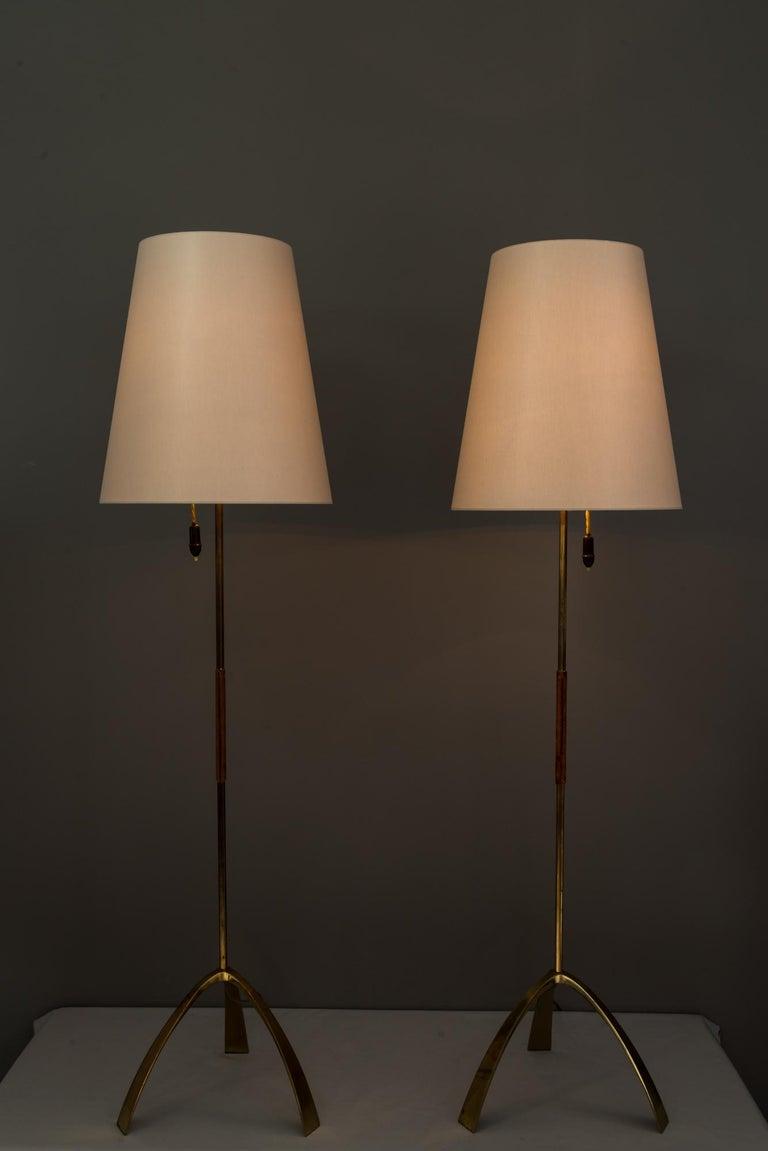 Two Kalmar Floor Lamps