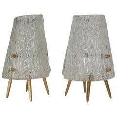 Two Kalmar Table Lamps, 1950s