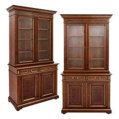 Neoclassical Bookcases