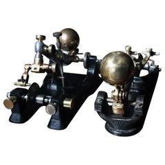 Two Late 19th Century Dutch Diamond Cutting Machines, circa 1890-1900