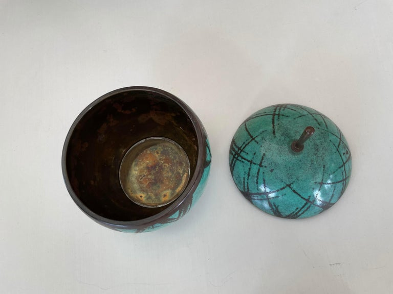 Mid-Century Modern Two Lidded Boxes by Paul Haustein For Sale