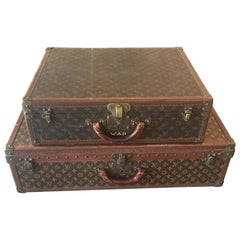 Two Louis Vuitton Suit Cases Priced Per Suit Case