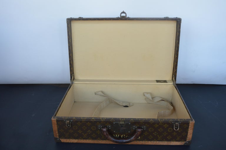 Two Louis Vuitton Trunks For Sale 8