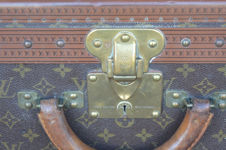 French Two Louis Vuitton Trunks For Sale