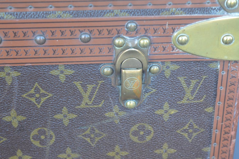Two Louis Vuitton Trunks In Good Condition For Sale In Los Angeles, CA