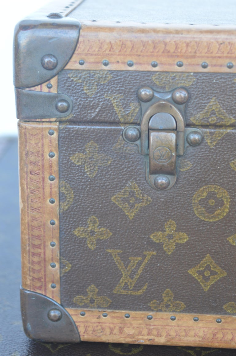 20th Century Two Louis Vuitton Trunks For Sale