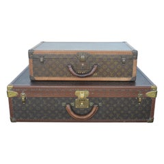 Two Louis Vuitton Trunks