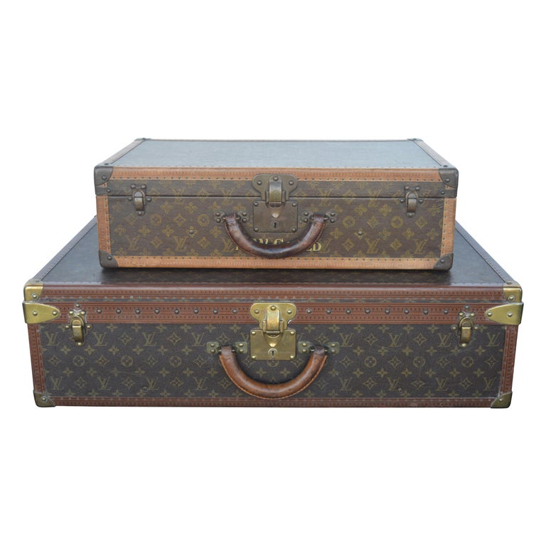 Two Louis Vuitton Trunks For Sale